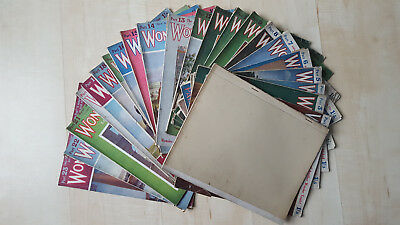 Wonders of the Past,  Hammerton. Magazines 1 - 23 of 24. 1923-1924
