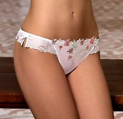 Lise Charmel String Magie Sexy Taille 3 White Flora