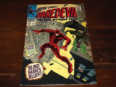 Marvel Daredevil 31  6.0 To 7.0 Ready For Cgc !!!!!!!!!!