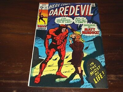 Marvel Daredevil 57  7.0 To 8.0 Ready For Cgc !!!!!!!!!!