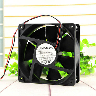 NMB 12CM 12038 4715KL-04W-B30 12V0.72A power supply chassis fan  double ball