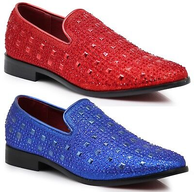 New Men Vintage Fashion Stage Dress Shoes Tuxedos Loafers Slip On Classic SPK11