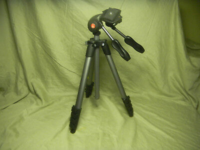 Manfrotto Compact Action Advanced Aluminum Tripod (Black)
