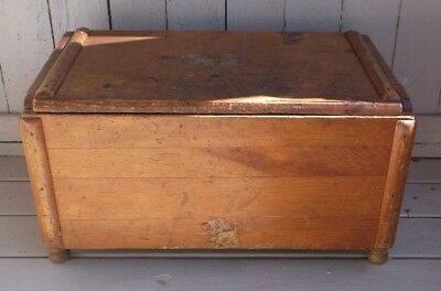 Vintage Pine Toy/blanket Chest/great Country Piece