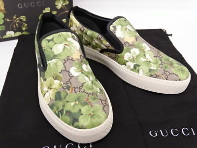 bebb589dcfa NEW GUCCI SUPREME GG Bloom Slip On Sneakers Shoes 407362 Size 8 C  07141559500 FG -  498.00