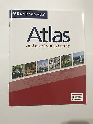 Atlas of American History by Rand McNally Staff (2006, Hardcover)