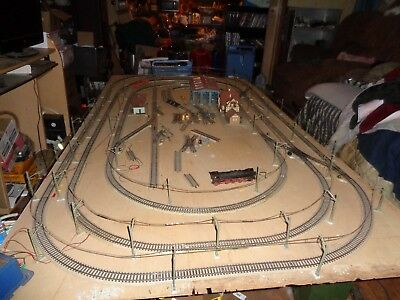 Marklin  Tracks,Overland Masts,Wire for Layout 4 x 8 Feet(see list in pictures)