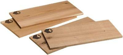 Grill Planks Value Pack - Set Of Four (4) Cedar And Alder Grilling Planks