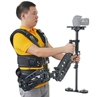 1-15KG LAING P4S Carbon Fiber Stabilizer Steadicam + Vest Arm Kit For BMCC DSLR