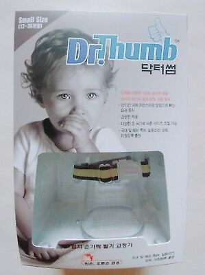 Dr. Thumb Stop Sucking Thumb Finger Protect Guard S Size 12~36 Month 1/3pcs
