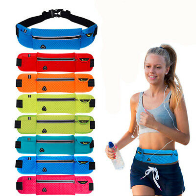Anti-theft Slim Run Gym Jogging Exercise Cell Phone Tight Chest Waist Fanny Bag