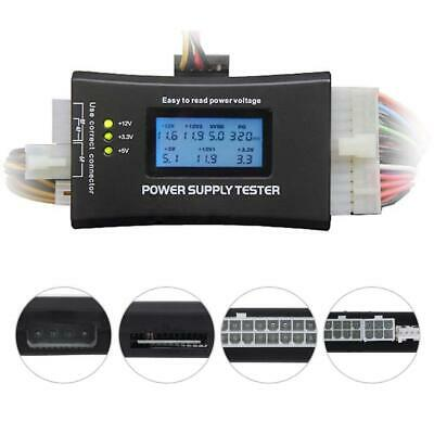 Digital LCD PC Computer PC Power Supply Tester 20/24 Pin SATA HDD Testers