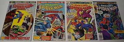 Amazing Spider-Man 115 130 179 180 Bronze Age Comic Book Lot Marvel Comics