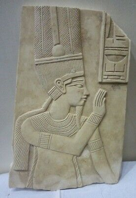 RARE ANCIENT EGYPTIAN ANTIQUE RAMSES III STELA Limestone Antique 1217 - 1155 BCE