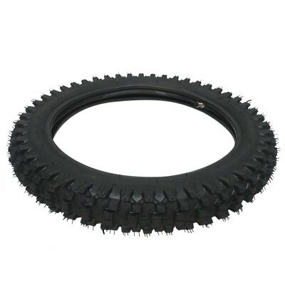 "60/100-14"" Dirt Pit Pro Trail Bike Tire 2.75-14"" Knobby Front Tyre Tube Crf New"