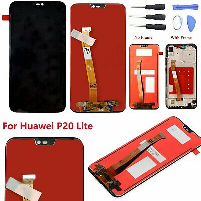 Replace For Huawei P20 Lite LCD Display Nova 3E Touch Screen Digitizer Assembly