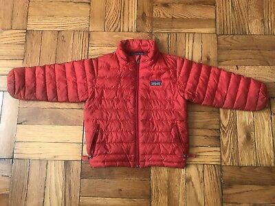 Great Patagonia Baby Down Sweater Red Jacket Toddler 3t Boysgirls
