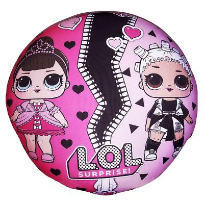 Lol Surprise 2 In 1 Round Cushion New Official