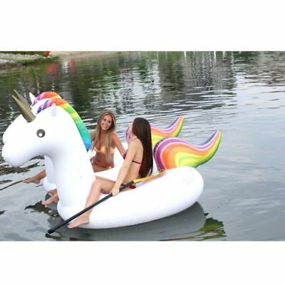 NEW Unicorn Pool & Lake Float (2-Pack) Large Inflatable Tube for Kids and Adults