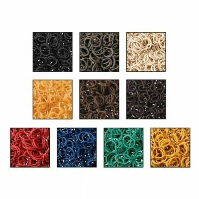 Tough 1 Braidettes Braiding Bands for Horse Grooming  - Bag of 500
