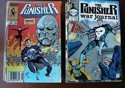 Punisher Lot of 116 Marvel Comics 1989+, War Journal Zone, Final Clearance Sale