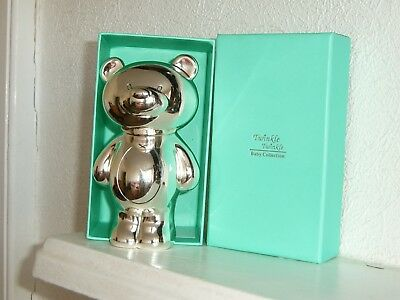 Twinkle  Twinkle  Silverplated  Bear  Money  Box  -  New And Unused In Box