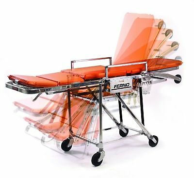 New Ferno Stretcher 28 Fernoflex Roll-In Chair Cot PT2801 Ambulance Stretcher