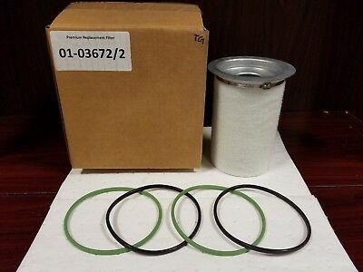 Replacement OEM Equivalent for KAESER Air/Oil Separator_6.3671.0 & 6.3792.1