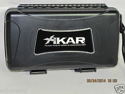 XIKAR  Travel Humidor for 10 Cigars with BOVEDA  Humidfier