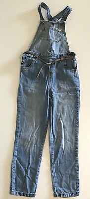 Carters Denim Overalls Boys Or Girls Size 7