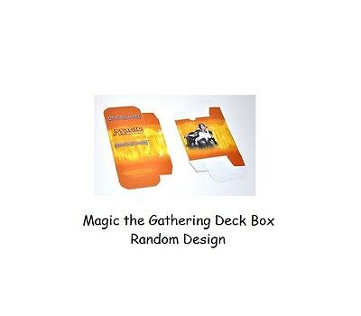 1x Random Magic the Gathering Deck Box - Cardboard Deck Box Official Collectable