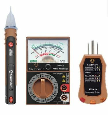Southwire 3-Piece Electrical Home Test Kit