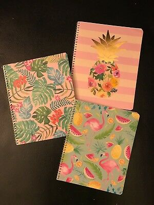 Lot of 3, Greenroom 1 Subject Notebooks, 70 sheets each