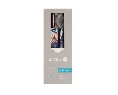Stance Socks Toddler Boy 1-2 YEARS 3-Pack Set (Summer box  TODDLER ) NIB