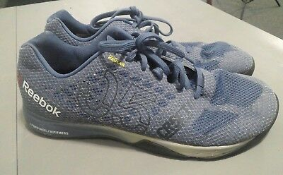 be54d5ba246 REEBOK Kevlar CROSSFIT NANO 5 training shoe CR5FT men s size 12 1 2 In Good