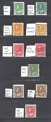 Canada KGV PERF 8 VERTICAL COILS + VARs SCOTT 125/130 USED (BS11740)
