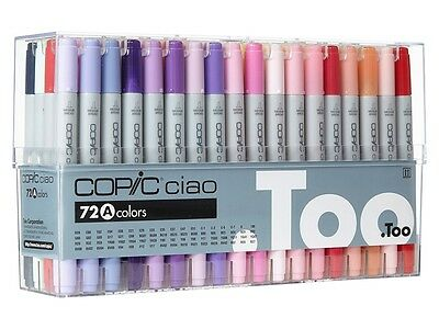 TOO Copic Ciao 12/24/36/72 color Set Premium Artist Markers - US Seller