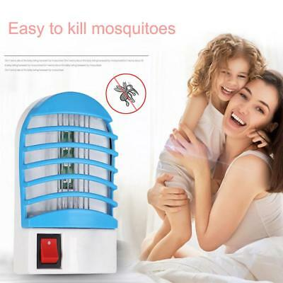 220V Socket Electric Mini Mosquito Lamp LED Insect Repeller Killer Fly Zapper