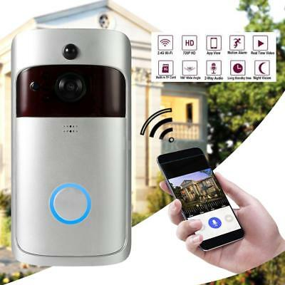 Smart Wireless WiFi Security DoorBell Smart Videocitofono Registrazione A4L8