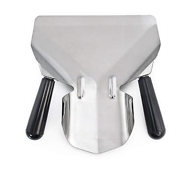 Stainless Steel Commercial French Fry Bagger, Dual Handle
