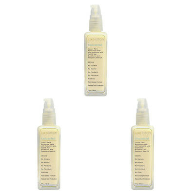 3X Luxebeauty Luxe Lotion Luxury Face Unscented Sunburn Protection Skin Care