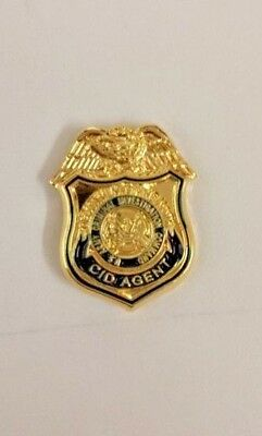 US ARMY CRIMINAL INVESTIGATIONS DIVISION CID PIN TIE TAC federal police  obsolete