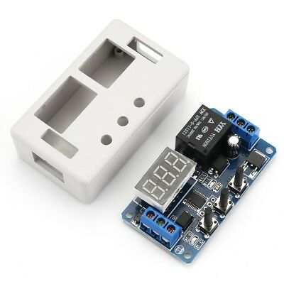 12V LED Automation Delay Timer Control Switch Relay Module with case TR