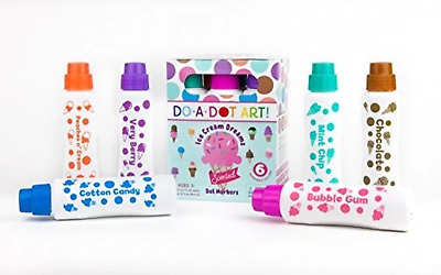 Do A Dot Dad203 Do A Dot Art Ice Cream  Markers 6 Pack