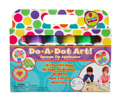 Do A Dot Dad103 Do A Dot Art Brilliant Markers 6 Pack