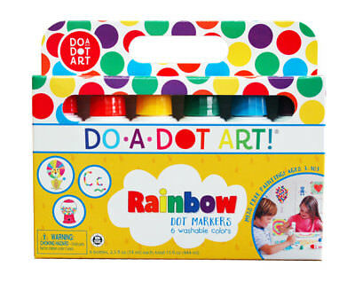 Do A Dot Dad101 Do A Dot Art Rainbow Markers 6 Pack