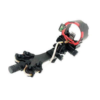 Adjustable Right Hand 5 Pin Compound Bow Sight Hunting Archery Accessories