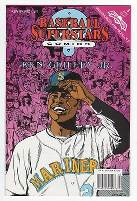 Ken Griffey Jr. 1992 Baseball Superstars Comics - Comic Book #3 Seattle Mariners