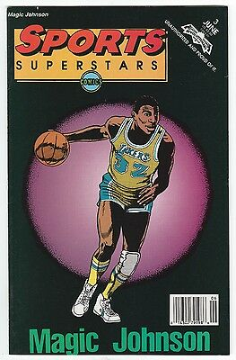 Magic Johnson 1992 Sports Superstars Comics - Comic Book #3 Los Angeles Lakers