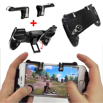 Game Pad Joystick Game Trigger Shooter Controller for PUBG Mobile Smart Phone AU